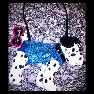 ❤️NWT❤️ Poochie & Co Girls Puppy Purse 🐶